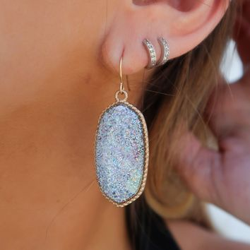 Out Of This Galaxy Earrings: Silver/Gold