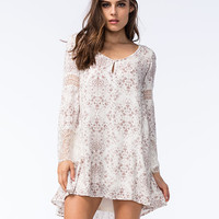 O'neill Panama Dress Cream  In Sizes