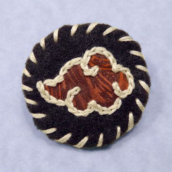 Akatsuki Cloud Felt Pin