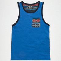 Beautiful Giant Shabooh Mens Tank Royal  In Sizes