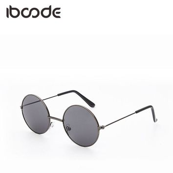 iboode Mirror Vintage Round Baby Girl Boy Sunglasses Personality Cool Fashion Trendy Sun Glasses Eyewear Decoration UV400