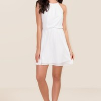 Lush Flawless Solid Dress