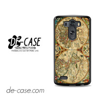 Vintage Old Retro World Map For LG G3 Case Phone Case Gift Present