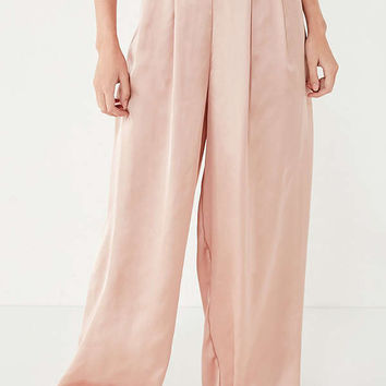 UO Pleated Palazzo Pant | Urban Outfitters
