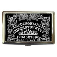Multiple Listing: Cigarette Cases by Shayne Of The Dead, Ouija Board, Black and White, Coffin, Skulls