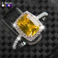 SWA Element Diamond 2ct Real 925 Silver Ring