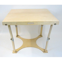 Spiderlegs CD3636-NB Hand Crafted & Custom Finished Puzzle Folding Table in Natural Birch