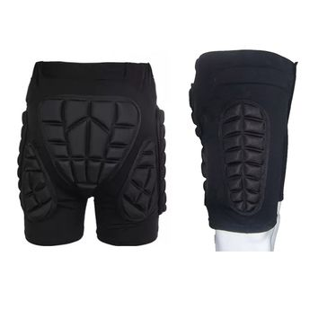 Pro Skating Snowboarding Shorts Hip Protective Bottom Padded For Ski & Roller Skate & Snowboard Outdoor Sports Hip Protection