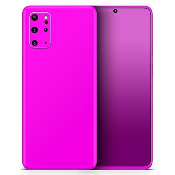 Solid Hot Pink V2 - Skin-Kit for the Samsung Galaxy S-Series S20, S20 Plus, S20 Ultra , S10 & others (All Galaxy Devices Available)