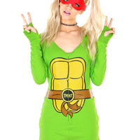 TMNT HOODED ROMPER