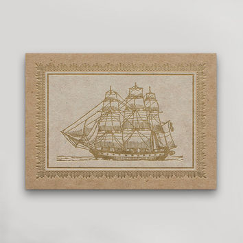 Clipper Ship Postcard
