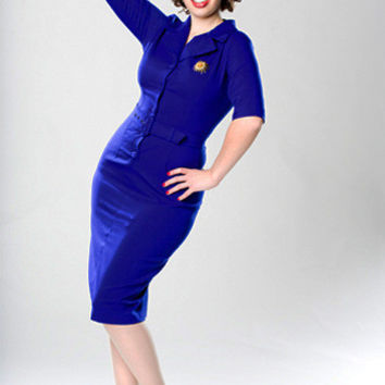 Sheila Pencil Dress  - Custom Sizing