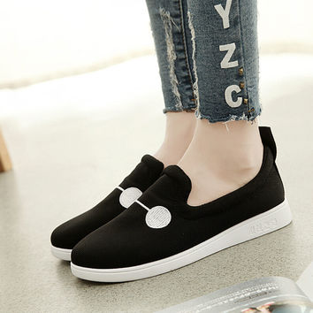Womens Canvas Shoes Sneakers