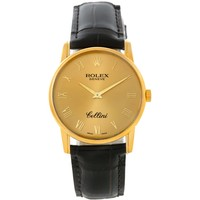 Rolex Cellini Classic 18k Yellow Gold Watch. Model 5116