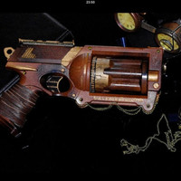 Steampunk Gun, Cosplay weapon.