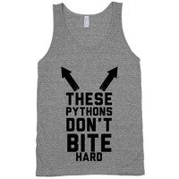 These Pythons Don't Bite Hard