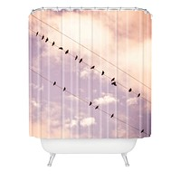 Shannon Clark Angelic Shower Curtain