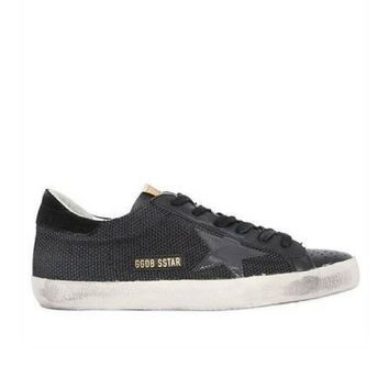 GOLDEN GOOSE DELUXE BRAND 20MM SUPER STAR COTTON SNEAKERS
