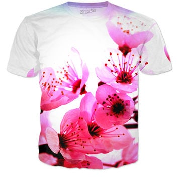 Cherry Blossoms T- Shirt