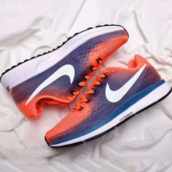 NIKE ZOOM PEGASUS Trending Retro Fashion Casual Sports Shoes Orange G-PSXY