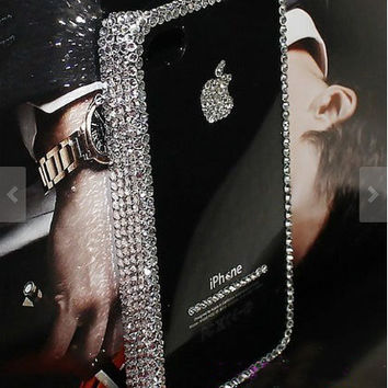 Bling iPhone 6 case iPhone 6 plus case Crystal iPhone 5 case crystal iPhone  5s case aaaff5142