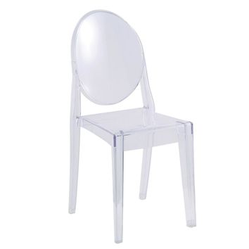 Clear Ghost Side Chair