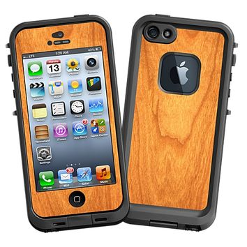 Flat Cut Cherry Skin for the iPhone 5 Lifeproof Case by skinzy.com