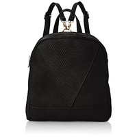 Poverty Flats Womens Faux Leather Purse Backpack