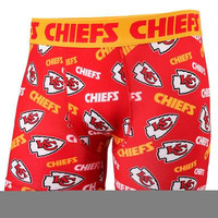 Kansas City Chiefs Official NFL Repeat Logo Comression Underwear