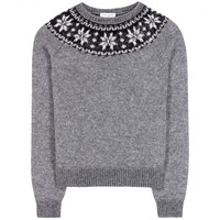 saint laurent - wool-blend sweater