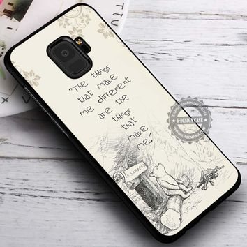 Make Me Different Winnie the Pooh iPhone X 8 7 Plus 6s Cases Samsung Galaxy S9 S8 Plus S7 edge NOTE 8 Covers #SamsungS9 #iphoneX