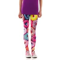 Sugar High Food Print Leggings