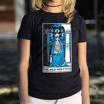 Tarot Card [High Priestess] Women's T-Shirt