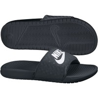 Nike Women's Benassi JDI Slide - Black/White | DICK'S Sporting Goods