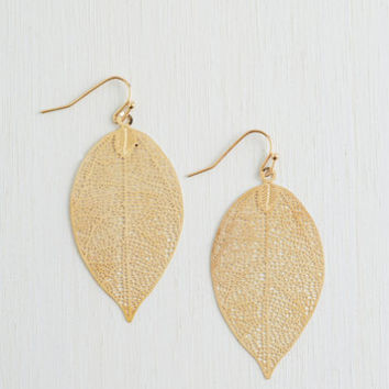 You're Frond to Something Earrings | Mod Retro Vintage Earrings | ModCloth.com