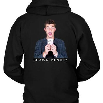 DCCKG72 Shawn Mendes Keep Smiling U Photo Hoodie Two Sided