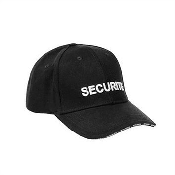 Vetements SECURITE Letter Embroider Women Men Baseball Cap Hat  Basic Hiphop Pure Color Cap  Snapback