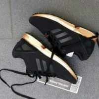 "Womens ""Adidas"" ZX Flux Black Copper Rose Gold Metallic NMD"