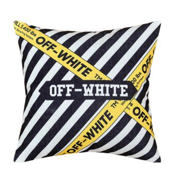OFF WHITE Pillow 45*45cm Home Decor