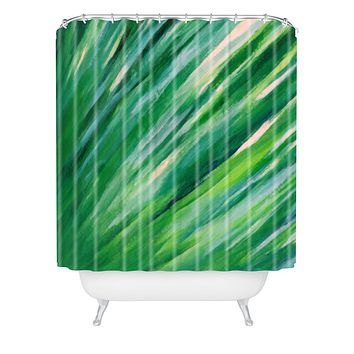 Rosie Brown Blades Of Grass Shower Curtain