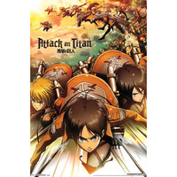 Attack On Titan Domestic Poster