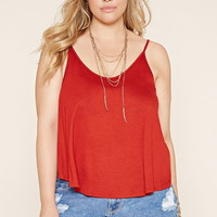 Plus Size V-Back Cami