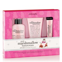 pink marshmallow buttercream | holiday trio | philosophy new!