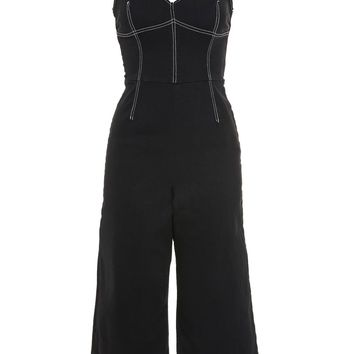 Stab Stitch Corset Jumpsuit - New In Fashion - New In