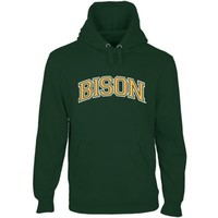 North Dakota State Bison Secondary Traditional Arch Pullover Hoodie - Green