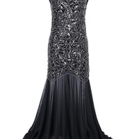 Long Formal Dress Evening Gown Fitted