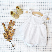 baby clothing summer newborn  designer baby clothes girls lace dress infant romper baby one piece bowknot jumpsuit climb clothes
