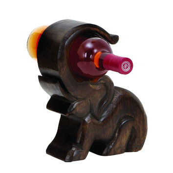 Design Wood Wine Holder With Great Finesse
