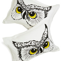 Owl Did You Sleep? Pillowcase Set | Mod Retro Vintage Decor Accessories | ModCloth.com