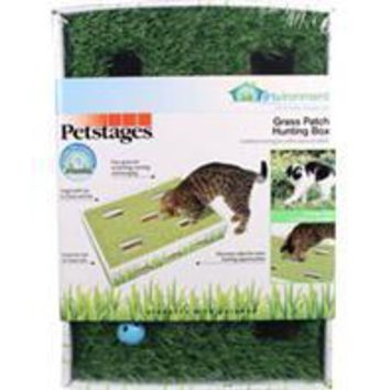 Petstages - Invironment Grass Patch Hunting Box For Cats